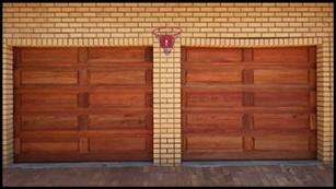 Garage door 15-single-10-panel-wooden-door