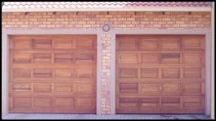 Garage door 17-single-20-pannel-wooden-door