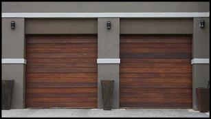 Garage door 19-single-horizontal-slatted-wooden-door