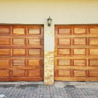 Garage door 20-Panel-Single-Door