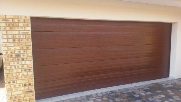Garage Door Double Steel