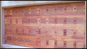 Garage door 7-double-studded-wooden-door
