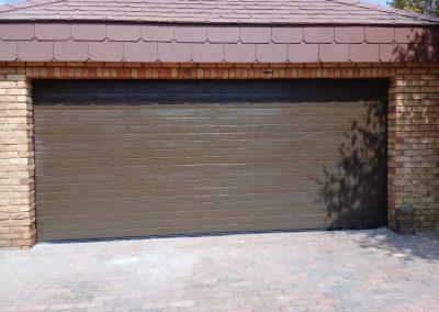 Steel Garage Door Double