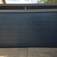 Steel Garage Door Double