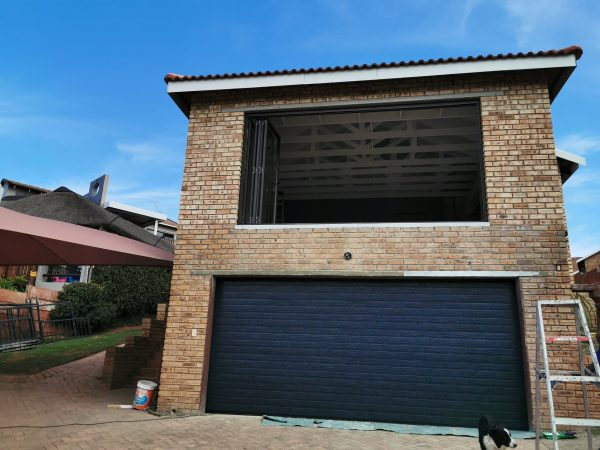 installation of steel garage doors