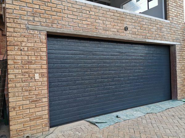 steel garage door installation