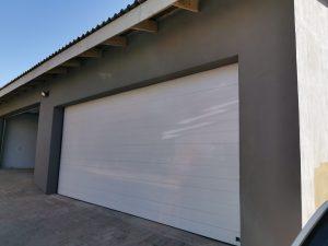 Steel and Aluminium garage doors