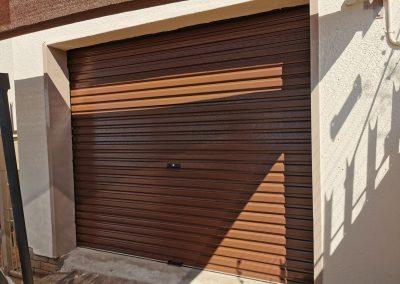 single steel garage door